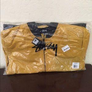 Stussy Jackets & Coats - Stussy Mustard Bomber jacket NWT xxl